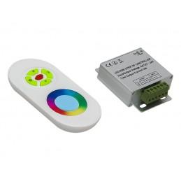 Sterownik do taśm LED RGB z pilotem / 70-817