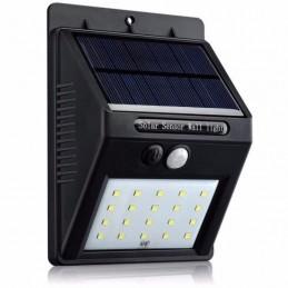 Lampa solarna z czujnikiem ruchu i zmierzchu 20xLED / 0593 lvt