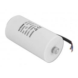 Kondensator rozruchowy 100/450V AGD z przewodami