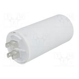 Kondensator rozruchowy 30uF/450V AGD z konektorami / CBB60A-30/450