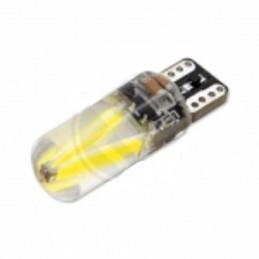 Żarówka LED R-10 12V 2xCOB CANBUS silikon / 0821 lvt