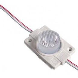 Moduł LED 48x30x15mm 2W 160lm biały zimny 6500K IP65 12VDC/0,167A / MD451SW