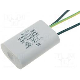 Kondensator przeciwzakłóceniowy 400nF+2,5nF/250VAC / KSPPPZ-024-400N