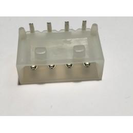 Gniazdo MX-8981-4R-LF 4-pin do druku kątowe MOLEX