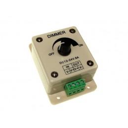 Sterownik do taśm LED ze ściemniaczem 12V-24V 8A manual / 002066