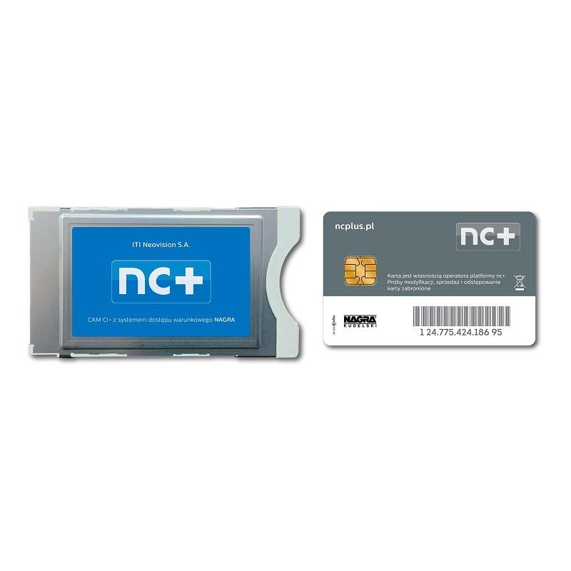 Moduł CI CAM + usługa TNK nc+ Start+ 1M PL