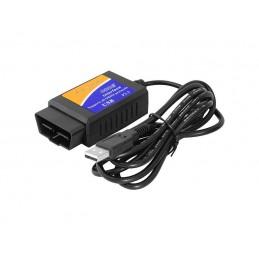 Interfejs diagnostyczny OBD2 ELM327 USB