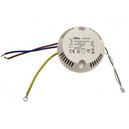 Zasilacz do LED prądowy 450mA 24-48V 18W okrągły / 012147