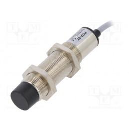 Czujnik indukcyjny zbliżeniowy M18 NO 90-250VAC 0-8mm przewód 2m / PCIA-8Z