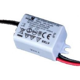 Zasilacz do LED prądowy 700mA 2,5-4,2V 3W