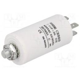 Kondensator rozruchowy 2,5uF/450V AGD z konektorami