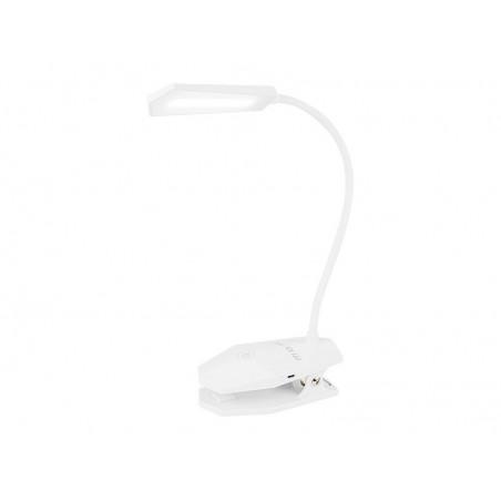 Lampka biurkowa LED LB-03 z klipsem USB+aku / 44-143