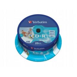 CD-R VERBATIM 700MB PRINTABLE do nadruku