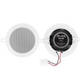 Głośnik sufitowy 165mm 6 ohm / 30W biały / 30-701
