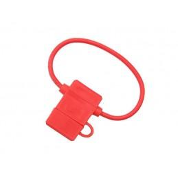 Gniazdo bezpiecznika nożowego na kablu 3,50mm hermetyczne UNI-czerwone - 4013