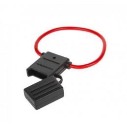 Gniazdo bezpiecznika nożowego MAXI 29mm na kablu 1,5mm - GNI0131-4