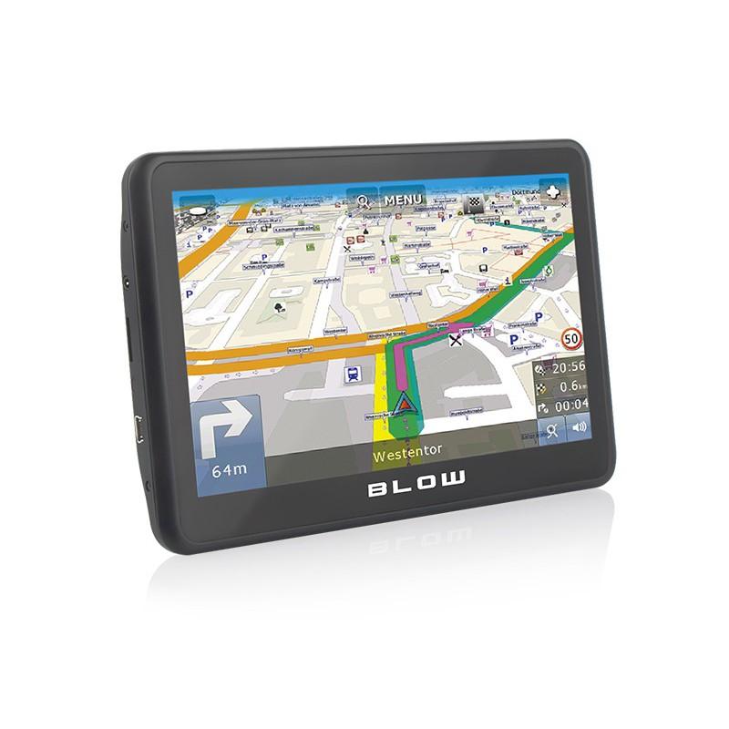 Nawigacja GPS BLOW GPS70V 8GB Europa Map Factor / 78-555
