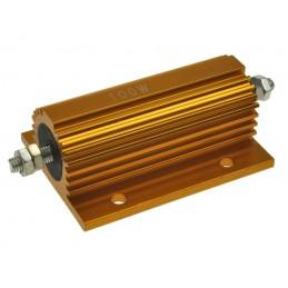 Rezystor 100W 2,2ohm 2R2 z radiatorem