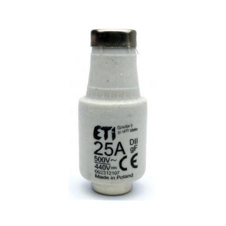 Wkładka topikowa 25A E27 002312107