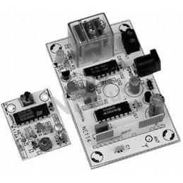 NE114 Zdalne sterowanie radiowe z zabezpieczeniem szyfrowym 433,92MHz - KIT