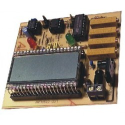 NE088 Dwupunktowy termometr LCD - KIT