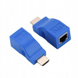 Przedłużacz HDMI Extender 30m po skrętce RJ45 / K714E