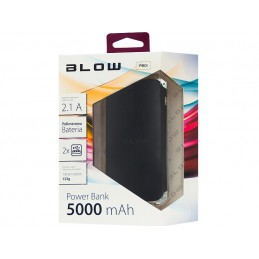 POWER BANK Blow PB14 14000mAh 2xUSB 5V-2,1A,5V-2,5A - 81-115