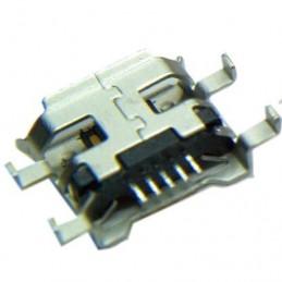 Gniazdo micro-USB 5-pin + 4 nogi do SMD