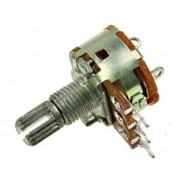 Potencjometr 100k/A (B100K) liniowy z wyłącznikiem