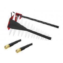 Antena GSM/4G/LTE MIMO model L4G z 10m przewódami wtyk SMA