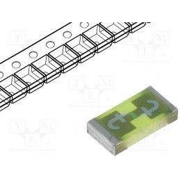 Bezpiecznik SMD 4A 63V szybki 1206 / 3413.0222.11