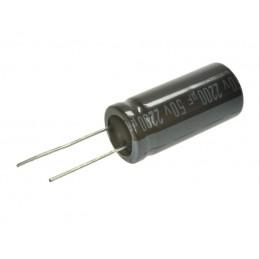 Kondensator 2200uF/50V elektrolit 105st.c 2200/50