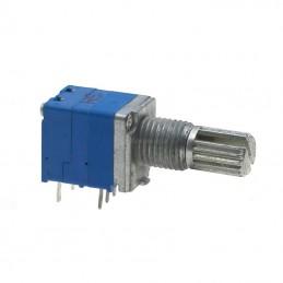 Potencjometr 20k/A (B20K) liniowy z wyłącznikiem
