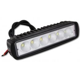 Lampa LED robocza car 10-30V 6x3W IP68 św.skupione dalekosiężne / 5191 lvt