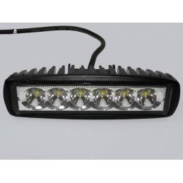 Lampa LED robocza car 10-30V 6x3W IP68 światło rozproszone