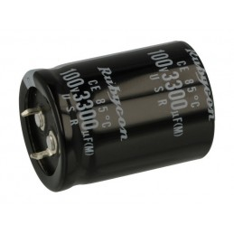 Kondensator 3300uF/100V elektrolit. 105st.C 3300/100