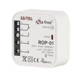 Radiowy odbiornik dopuszkowy 1- kanałowy 200m / Zamel ROP-01