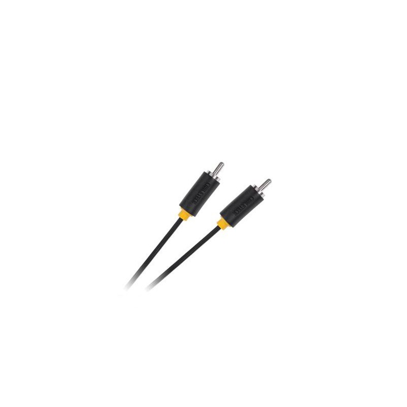 Złącze 1xRCA 1.8m Cabletech standard / KPO3953-1.8