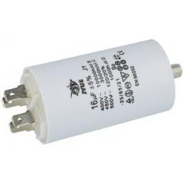 Kondensator rozruchowy 16uF/450V AGD z konektorami