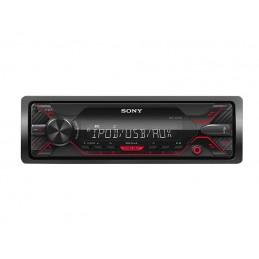 Radio samochodowe SONY DSX-A200UI AUX+USB+PILOT (czerwone)