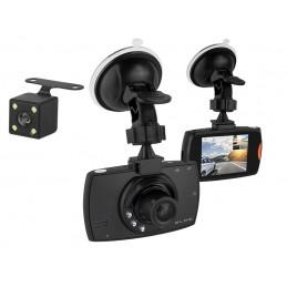 Rejestrator samochodowy CAR DVR F480 Blow z funkcją kamery cofania (2 kamery) / 78-539