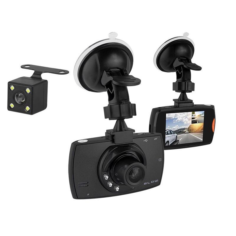 26c59879ede7c8 Rejestrator samochodowy CAR DVR F480 Blow z funkcją kamery cofania (2 kamery)  / 78