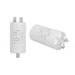 Kondensator rozruchowy 3uF/450V AGD z konektorami