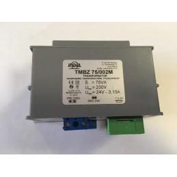 TMBZ 75/002M 24V 3,13A transformator zalewany z listwą zaciskową