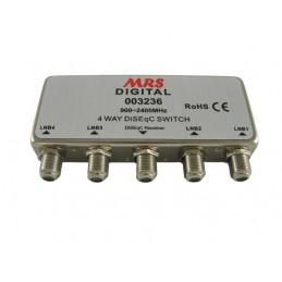 Przełącznik DiSEqC 4x1 2.0
