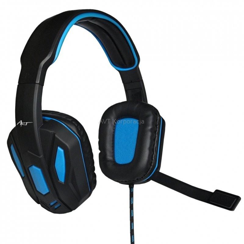 Słuchawki X1 HYDRO PRO z mikrofonem i reg. głoś. dla graczy / SLART X1 HYDRO PRO