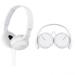 Słuchawki SONY MDR-ZX110W nauszne białe