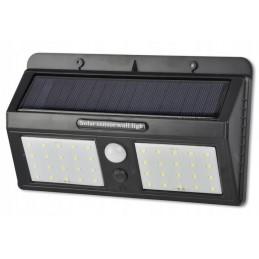 Lampa solarna z czujnikiem ruchu i zmierzchu 40xLED / 0602 lvt