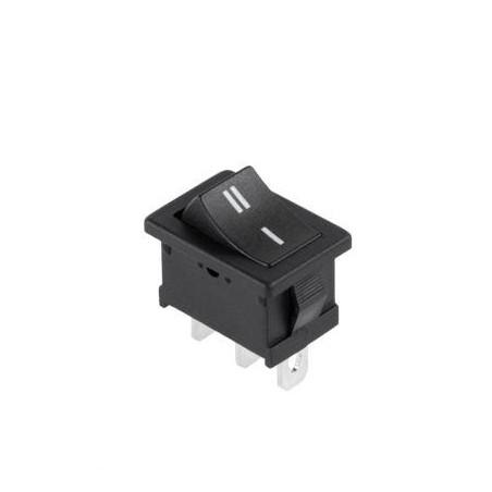Przełącznik klawisz 2-poz mały czarny MRS-102 / PRK0050AK
