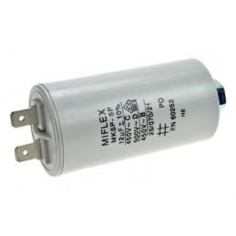 Kondensator rozruchowy 12uF/450V AGD z konektorami
